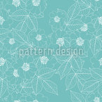 Wild Rose In Bloom Pattern Design