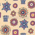 Mehr Als Blumen Nahtloses Muster