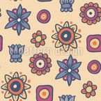 More Than Flowers Seamless Pattern