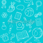 Schools Out Seamless Vector Pattern Design