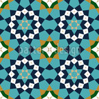 Morocco Geometry Vector Ornament