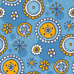 Flowery Times Are Coming Seamless Pattern