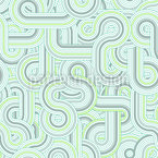 Unendliche Retro Linien Nahtloses Vektormuster