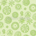 Mini Flower Vector Pattern