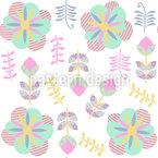 Floral Impressions Pattern Design