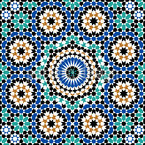Marrakech Estampado Vectorial Sin Costura