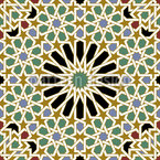 Riad Splendor Seamless Vector Pattern Design