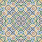 Contemporary Morocco Vector Pattern