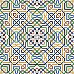 Zeitgenössisches Marokko Vektor Muster