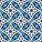Blumen Des Koran Nahtloses Vektormuster