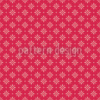 Everywhere Christmas Stars  Vector Pattern