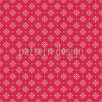 Überall Weihnachtssterne Vektor Muster