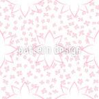 Moderne Blumen mit Wirkung Musterdesign