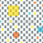 Abstrakte Barcodes Nahtloses Vektormuster