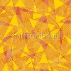 Era uma vez Haviam Triângulos Design de padrão vetorial sem costura