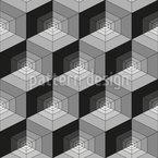 Geometrische Irreführung Nahtloses Vektormuster