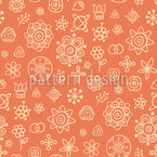Flowers Or Stars Afterall Seamless Vector Pattern Design