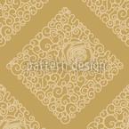 Dornröschens Gold Nahtloses Vektormuster