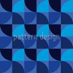 幾何学風車 シームレスなベクトルパターン設計