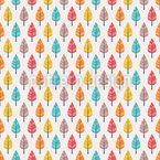 Colorful Autumn Vector Pattern