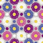 Wuschelige Blumen Rapport