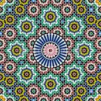Marokkanische Fliese Nahtloses Vektormuster