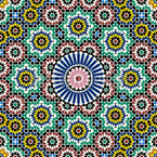 Moroccan Tile Seamless Vector Pattern Design