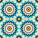 Arabic Star Seamless Vector Pattern Design