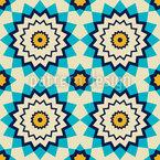 Arabischer Stern Nahtloses Vektormuster