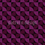 Woven Ribbon Seamless Vector Pattern Design