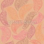 Paisley Blätter Vektor Design