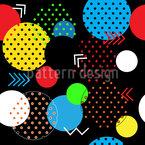Moderne geometrische Formen Nahtloses Muster