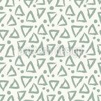 Handgezeichnete Dreiecke Nahtloses Vektormuster