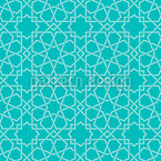 Oriental Bath Seamless Vector Pattern Design