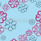 Folded Flowers Pattern Design