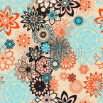 Wüstenblume Nahtloses Vektor Muster