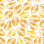 Stamped Autumn Pattern Design