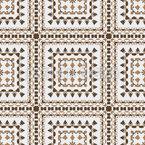 古いタイル シームレスなベクトルパターン設計