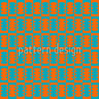 Dizzying Shapes Seamless Vector Pattern Design