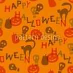 Halloween Schnipsel Musterdesign