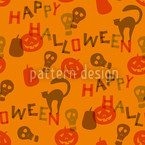 Halloween Snippets Pattern Design