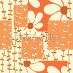 Blume und Liane Rapportiertes Design