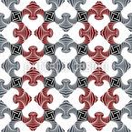 Kariertes Puzzel Nahtloses Vektor Muster