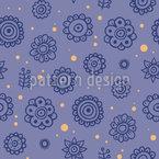 Midnight Flowers Design Pattern