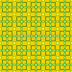 Limoncello quadratische Formen Nahtloses Vektormuster