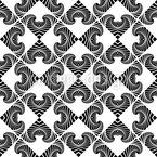 Moderner Zebra Look Rapport