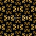 Maori Verzierungen Muster Design