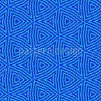 Fancy Dreiecke Nahtloses Vektormuster