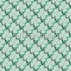 Modern Lucky Clover Pattern Design