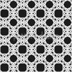 ダーク・ウィッカーワーク シームレスなベクトルパターン設計